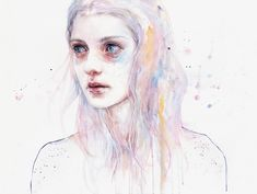 Oops, Agnes Cecile Spilled the Water | Illusion Magazine