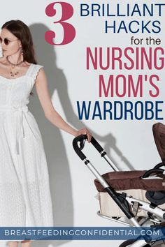 New moms who are breastfeeding want to look stylish and put-together. These awesome hacks will show you how to make what you already have stylish and they are affordable too! #nursingclothes #newmomtips #breastfeedingtips #nursingwardrobe #nursingtank Breastfeeding Fashion, Breastfeeding Accessories, Breastfeeding Problems, Breastfeeding Clothes, Breastfeeding And Pumping, Breastfeeding Tattoo, Breastfeeding Positions, Diy Nursing Clothes, Mom Clothes