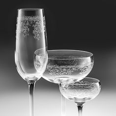 All about champagne saucers