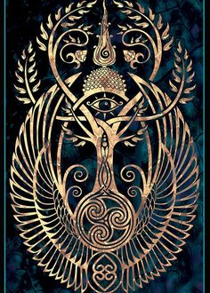 Ideas For Tattoo Tree Of Life Celtic Norse Mythology Art Viking, Vikings, Ouvrages D'art, Viking Tattoos, Tattoo Celtic, Norse Tattoo, Celtic Art, Celtic Designs, Viking Designs