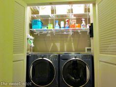 DIY Laundry Room Makeover. Laundry Folding TablesLaundry ...