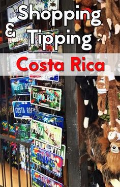 tipping in costa rica - learn about the tipping customs in Costa Rica and how much you should tip