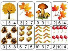 Fall Preschool Activities, Quiet Time Activities, Preschool Math, Kindergarten Math, Fall Arts And Crafts, Autumn Crafts, Tree Study, Kids Math Worksheets, Creative Curriculum