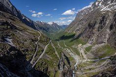 Trollstigen - The Troll Road  Åndalsnes, Norway
