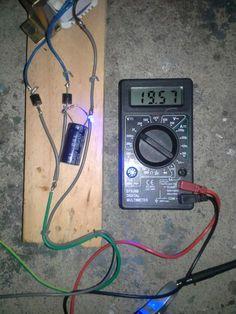 Cargador de baterías para carro casero (12V)