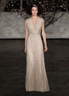 "Jenny Packham ""Charlotte"" 2014 Bridal Collection. 212 872 8957"