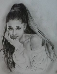 Ariana grande drawing ...