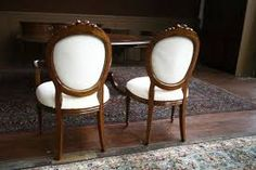 Image result for round back dining room chair covers