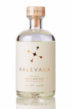 Riley saved to RileyKalevala Gin - Finnischer Bio Gin - - - Gin Fizz, O Gin, Beverage Packaging, Bottle Packaging, Coffee Packaging, Food Packaging, Jar Labels, Bottle Labels, Packaging Inspiration