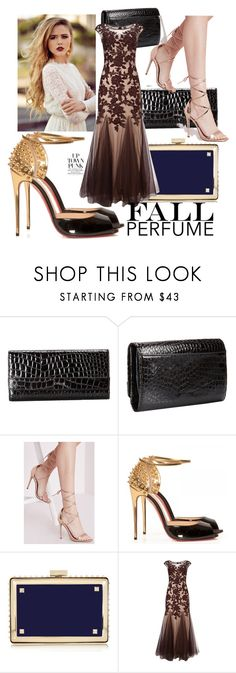 """""""beautifulhalo"""" by crvenamalina ❤ liked on Polyvore featuring Lodis, Missguided, Christian Louboutin, Valentino and Phase Eight"""