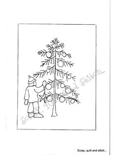 Aperçu du document - page Wool Applique, Embroidery Applique, Felted Wool, Wool Felt, Christmas Embroidery Patterns, Winter Quilts, Christmas Graphics, Hexagon Quilt, Punch Needle