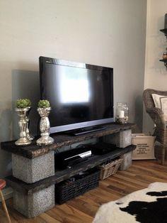Diy tv stand ideas diy and crafts необычная мебель, мебель, Diy Furniture Tv Stand, Diy Furniture Projects, Home Projects, Diy Rack, Diy Home Decor, Room Decor, Diy Tv Stand, Entertainment Center, Sweet Home