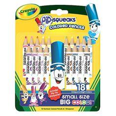 """Crayola Pip-Squeaks Colored Pencils - Crayola - Toys """"R"""" Us"""