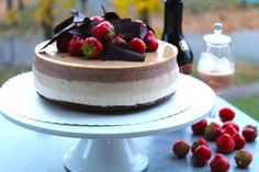 TRIPLE BAILEYS & CHOCOLATE CHEESECAKE