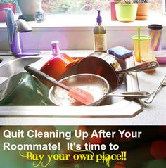 Quit Cleaning up after your roomate! Stop Renting - Buy Now / No Down Payment with #USDAHomeLoans