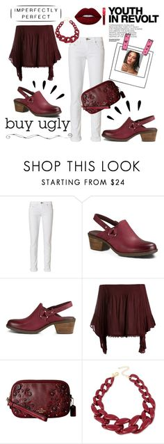 """""""Ugly Shoes"""" by anatoraya ❤ liked on Polyvore featuring rag & bone, Teva, Sans Souci, Old Navy, Coach, Hedi Slimane, INC International Concepts and Lime Crime"""