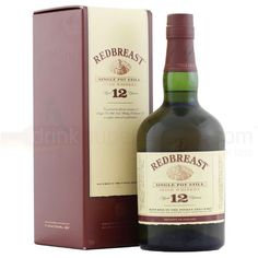 Redbreast 12 yrs - Single Pot Still Irish whiskey, 88/100pts//JL Nose: 24 Taste: 22 Finish: 20 Balance: 22