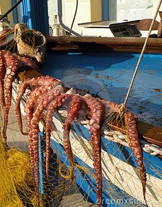 Naxos, Greece - best food of life. Serve me up some tentacles pls :)