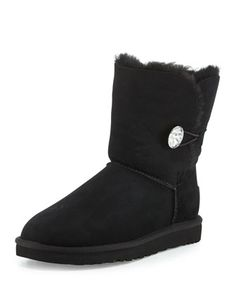 Bailey Bling Button Boot by UGG Australia at Neiman Marcus.