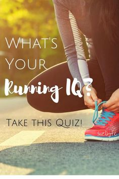 Put your running knowledge to the test--take this running IQ test and see how you stack up, challenge your friends, and then link up with Running Coaches Corner! @suzlyfe http://suzlyfe.com/running-iq-quiz-coaches-corner-63/