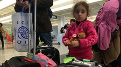 """A group of about 164 Syrian refugees who left today on a Toronto-bound Canadian Forces Airbus from Beirut tell CBC's Susan Ormiston they are excited to take the """"big step"""" to come to Canada, but are also nervous about their journey. Syrian Refugees, New Life, Fundraising, Beirut, Journey, Canada, Toronto, Families, Events"""