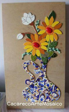 Mosaic Vase, Mosaic Tiles, Mosaic Designs, Mosaic Patterns, Mosaic Stepping Stones, Mosaic Pictures, Mosaic Flowers, Mosaic Garden, Mosaic Projects