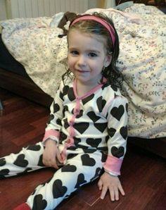 Merci tata Delphine pour ce pyjama bébé bio coeurs! #Maxomorra c'est une idée de cadeau originale...
