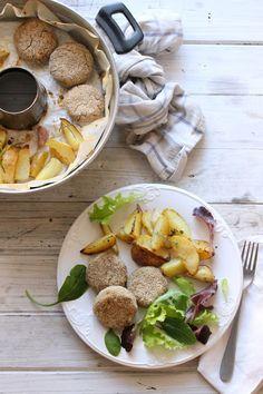 polpette vegetariane di ceci e lenticchie in pentola fornetto versilia   .
