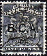 Nyasaland British Central Africa 1897 Coat of Arms SG 43 Fine Used Scott 21 Other African Stamps HERE
