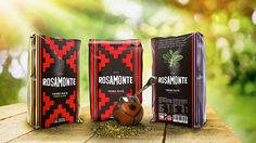 """Creative packaging design for a typical Argentina infusion """"yerba mate"""". #pattern #rextiles #packaging #origin #yerba #mate #argentina ------------- © Corina Saccal, Barcelona 2014."""