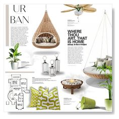 """""""Urban..."""" by desert-belle ❤ liked on Polyvore featuring interior, interiors, interior design, home, home decor, interior decorating, EcoSmart Fire, polyvoreeditorial, fredfrety and nestrest"""
