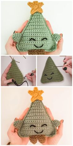 We are going to learn How to Crochet Christmas Tree Cuddle Buddy Crochet Pattern. She is the cutest, cuddliest companion for the holidays and sure to bring some holiday cheer! She is also a great photo prop for little ones.