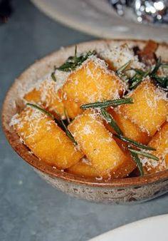 polenta chips with rosemary & parmesan at Jamie's Italian