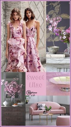""""""" Sweet Lilac Pantone Spring / Summer 2019 Color """" door Reyhan S. Color Trends, Color Combinations, Color Collage, Color Me Beautiful, Color Balance, Fashion Colours, Summer Colors, Pantone Color, Color Inspiration"""