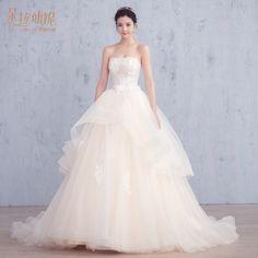 The new bridal bridal dress wedding dress