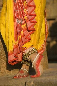 Indian dancer, Konark, Orissa, India