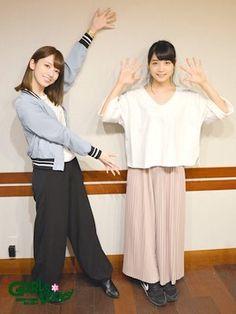 ななみん&まいまい Hashimoto Nanami, Modern Aprons, Saito Asuka, Asian Girl, Stylish, Celebrities, Pants, Yahoo, Tokyo