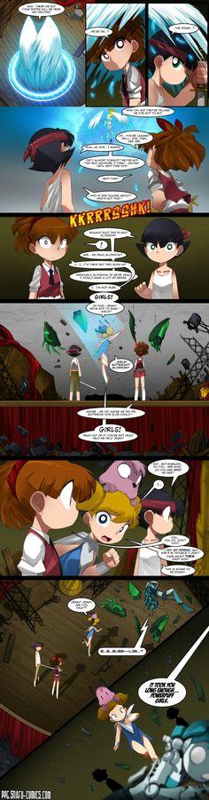 PowerPuff girls Doujinsh chapter 11 page 13 by bleedman SNAFU comics