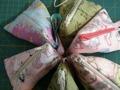 Sew much time, Sew little Fabric: Humbug Bag - How to insert a Zipper tutorial