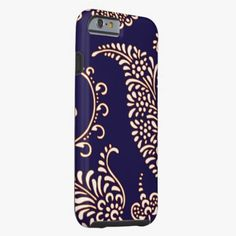 iPhone 6 Cases | Damask vintage paisley girly floral henna pattern iPhone 6 case