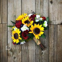 Sunflower Bouquet, Rustic Bouquet, Wine and Sunflower Bouquet, Marsala Sunflower Bouquet, Bridal Bouquet Maroon Wedding, Fall Wedding, Dream Wedding, Wedding Ideas, Wedding Venues, Autumn Weddings, Wedding Vows, Boho Wedding, Floral Wedding