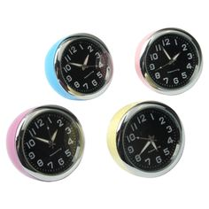 [USD3.62] [EUR3.29] [GBP2.56] Mini Exquisite Ball Clock / Table Clock (Random Color Delivery)