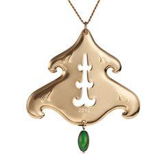 The annual collectible Christmas ornament by Finnish Kalevala Koru, Design: Havu by Maria Arola.
