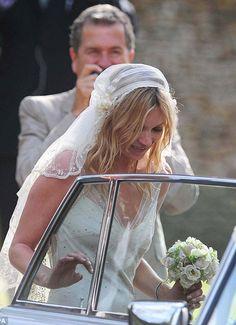 Kate Moss - Bridal Cap