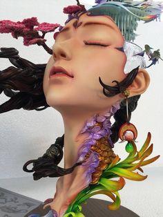 Sculpture Lessons, Sculpture Clay, Abstract Sculpture, Sculptures, Bread Art, Plaster Art, King Tattoos, Open Art, Sugar Art