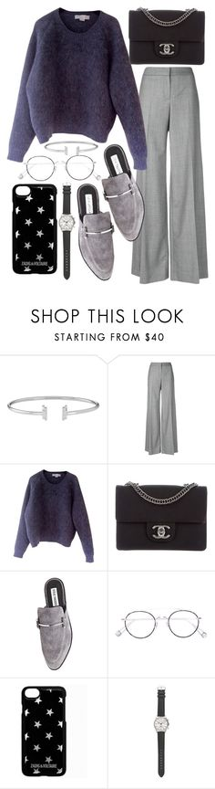 """Untitled #22313"" by florencia95 ❤ liked on Polyvore featuring Alexander McQueen, STELLA McCARTNEY, Chanel, Steve Madden, Ahlem, Zadig & Voltaire and J.Crew"