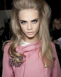 Ash Blonde Vintage Hairstyle