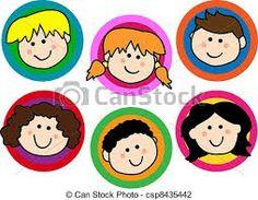 desenhos de rostos de crianças - Pesquisa Google