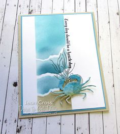 DTGD17jacquelineB Not too Crabby by naturecoastcrafter - Cards and Paper Crafts at Splitcoaststampers