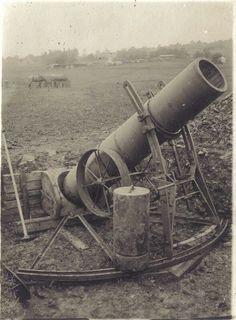 Railway Gun, Military Equipment, German Army, World War I, Wwi, Cannon, Trench, Weapons, Steampunk